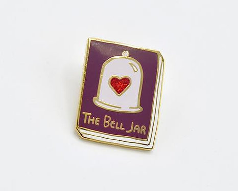 Book Pin: The Bell Jar