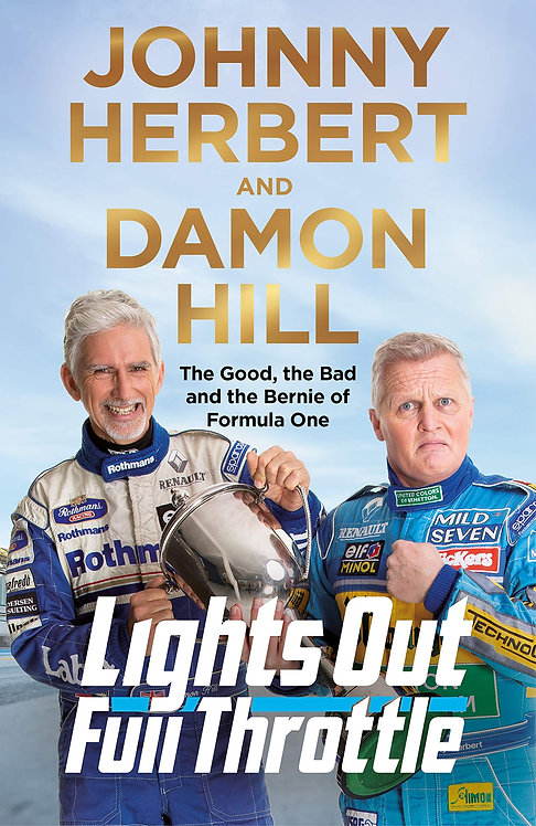Lights Out, Full Throttle - Signed 1st Editions!