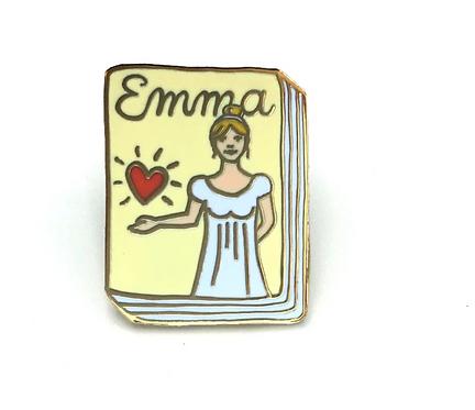 Book Pin: Emma