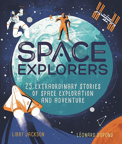 Space Explorers - with SIGNED bookplate!