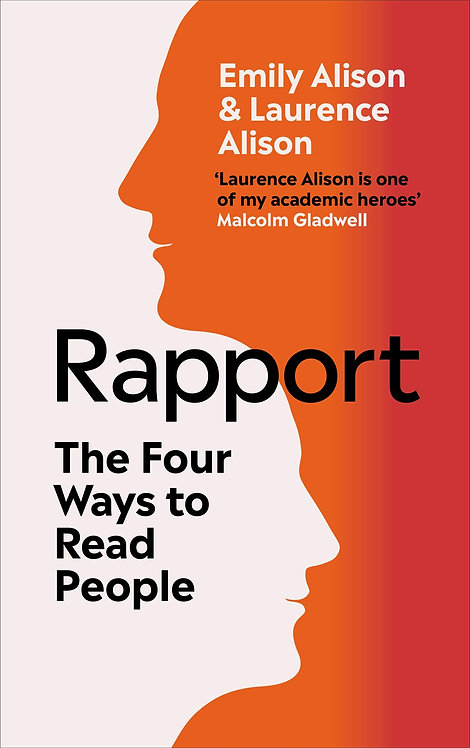 Rapport: The Four Ways to Read People - with SIGNED bookplate!