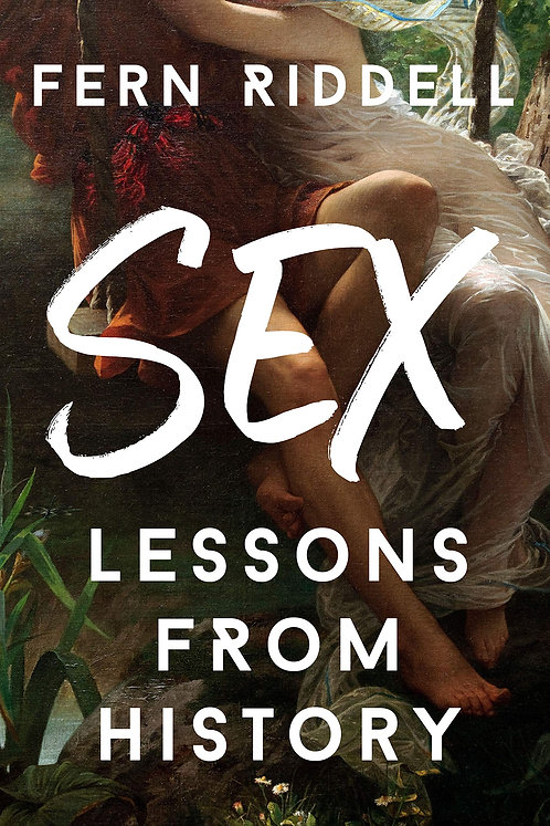 PRE-ORDER Sex: Lessons From History - with signed and dedicated bookplate!