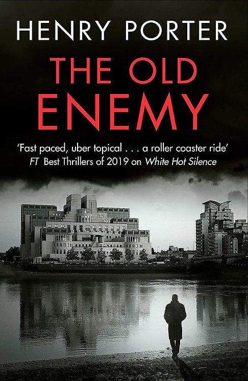 The Old Enemy - SIGNED 1st editions!
