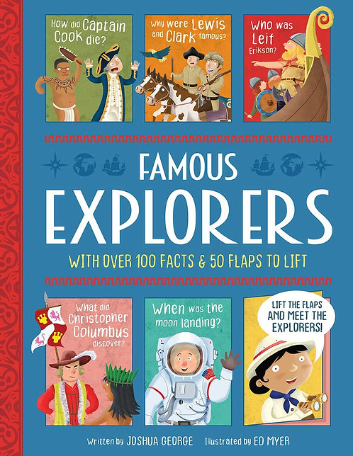 Famous Explorers - Lift-The-Flap History