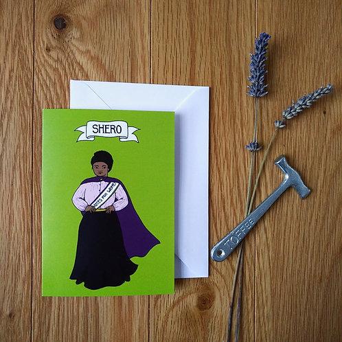 Shero card