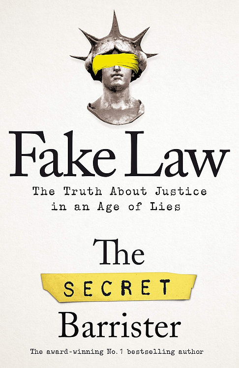 Fake Law- SIGNED FIRST EDITION!*