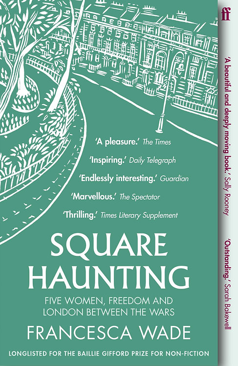 Square Haunting- with signed bookplate!
