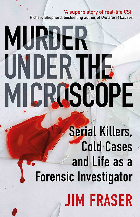 Murder Under the Microscope - with SIGNED bookplate
