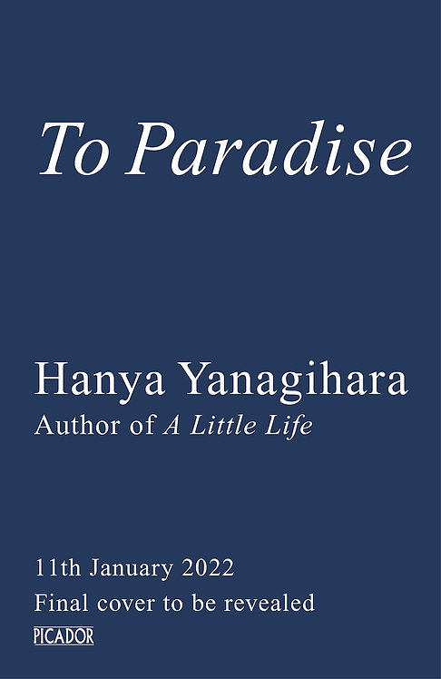 PRE-ORDER To Paradise - January 2022