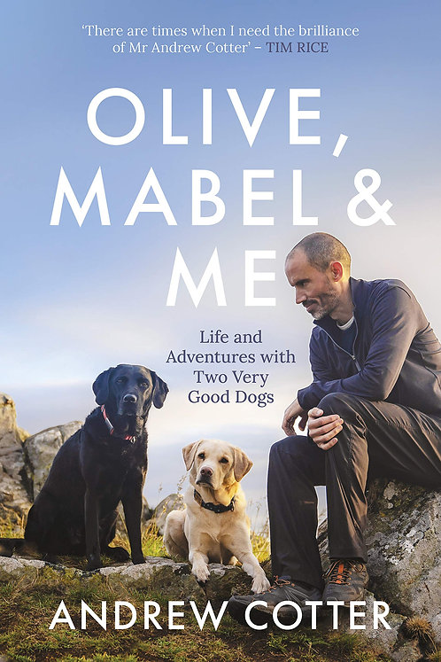 Olive, Mabel and Me - with signed & paw-printed bookplate!