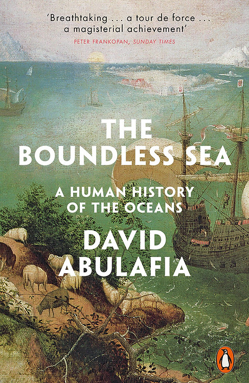 The Boundless Sea: A Human History of the Oceans w/SIGNED bookplates!