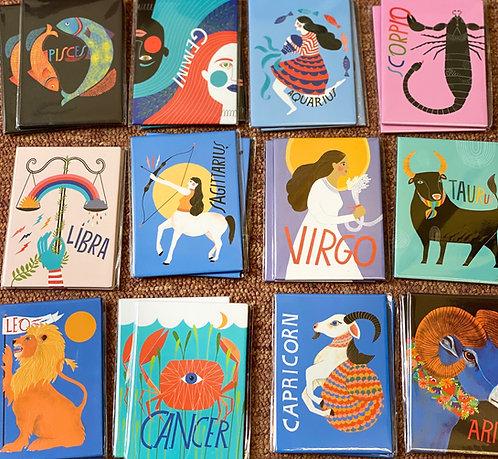 Zodiac Fridge Magnets