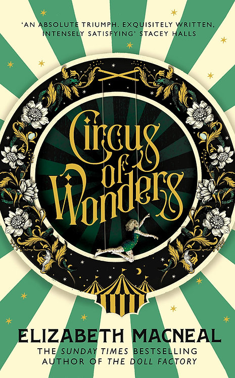 Circus of Wonders - SIGNED bookplate 1st edition