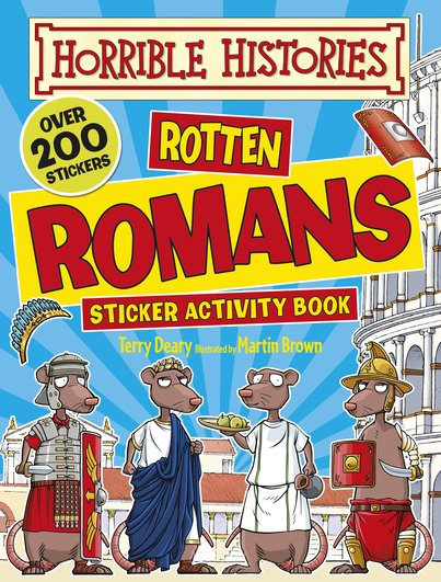 Rotten Romans Activity Sticker Book