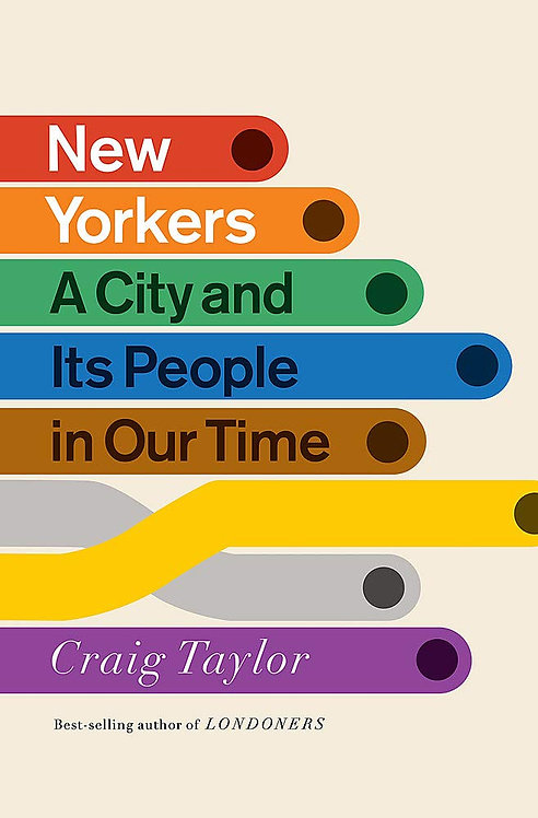 PRE-ORDER New Yorkers: A City and Its People in Our Time - 23/3/21