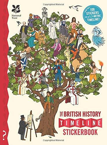The British History Timeline Stickerbook