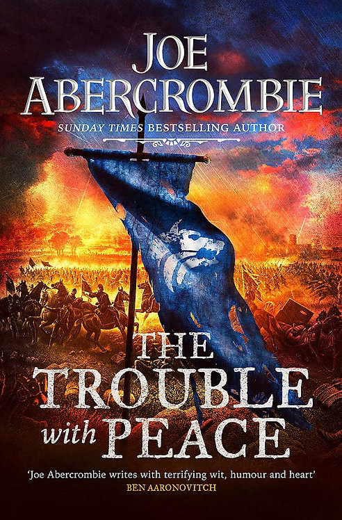 The Trouble With Peace - SIGNED FIRST EDITION!