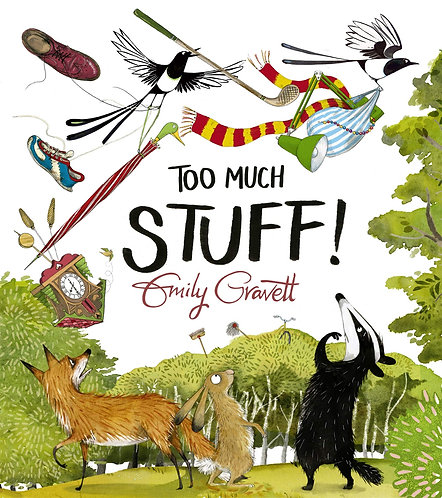 Too Much Stuff - with SIGNED bookplate!