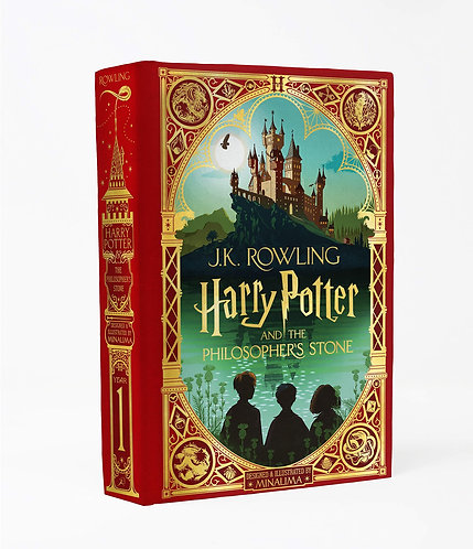 Harry Potter and the Philosopher's Stone MinaLima Edition, Out Oct. 20