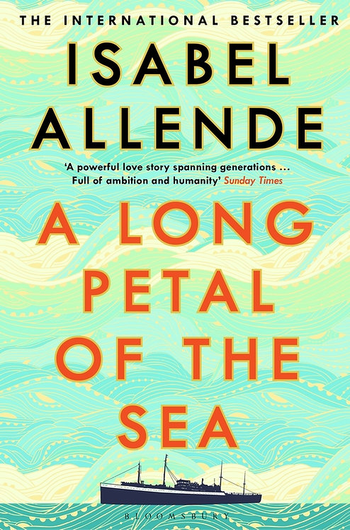 A Long Petal of the Sea - not the signed edition!