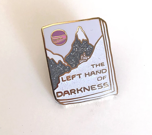 Book Pin: The Left Hand of Darkness