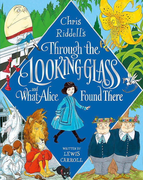 Chris Riddell's Through the Looking-Glass - with SIGNED bookplate