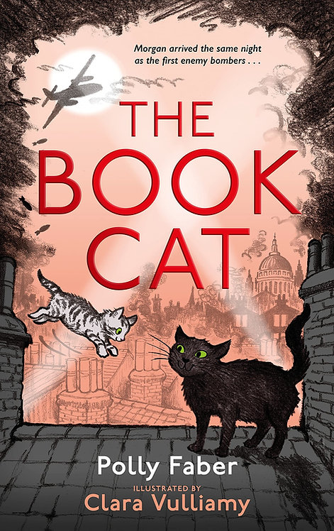 The Book Cat - with SIGNED bookplates!