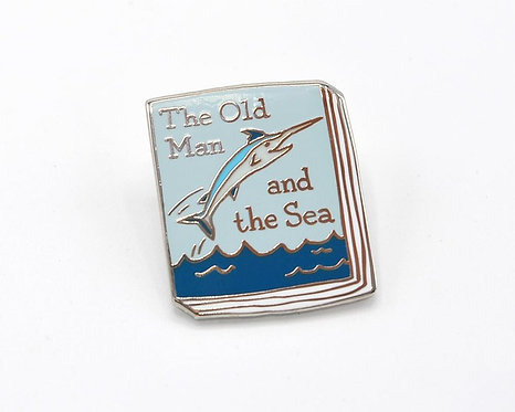 Book Pin: The Old Man and the Sea