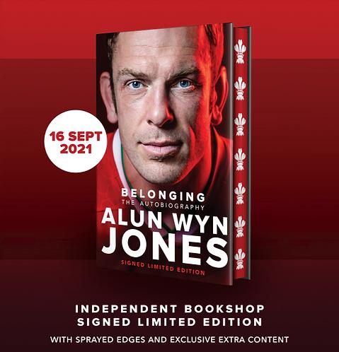 Alun Wyn Jones: Belonging - SIGNED Indie Exclusive Edition