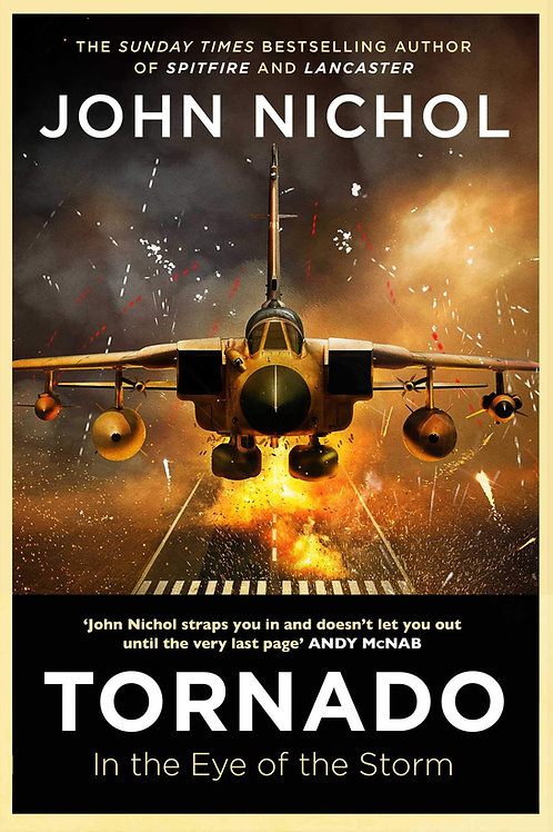 Tornado: In the Eye of the Storm - SIGNED 1st Editions with free gifts*