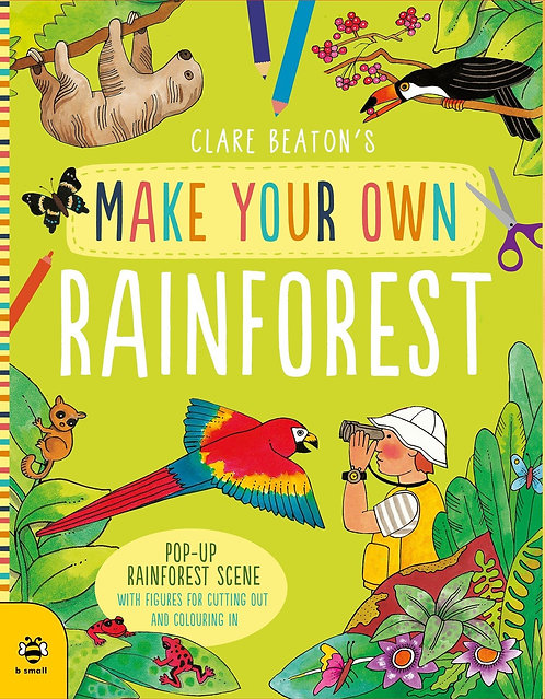 Make Your Own Rainforest: Pop-Up Rainforest Scene with Figures for Cutting out