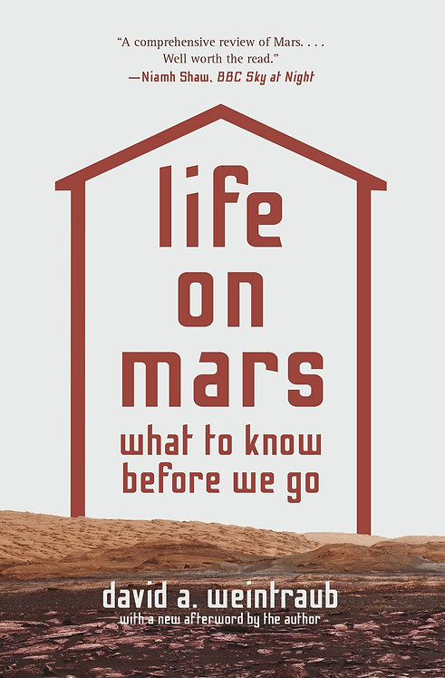 Life on Mars - with SIGNED bookplate!