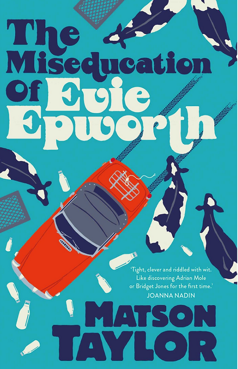 The Miseducation of Evie Epworth - with signed bookplate!