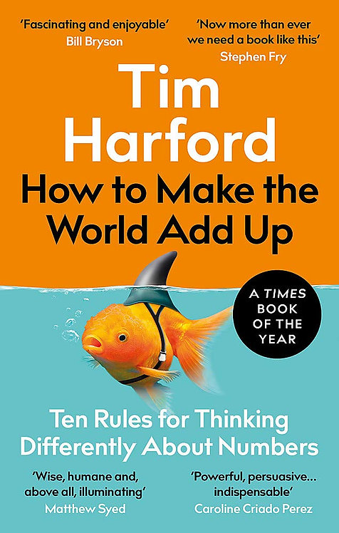 How to Make the World Add Up - with SIGNED bookplate!