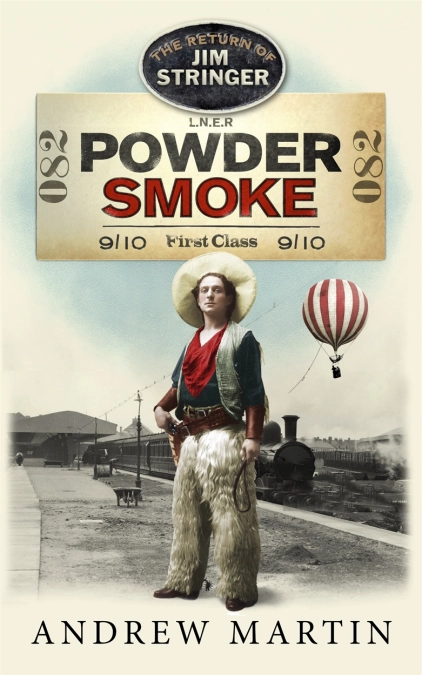 PRE-ORDER Powder Smoke - with signed bookplate! out 21/1