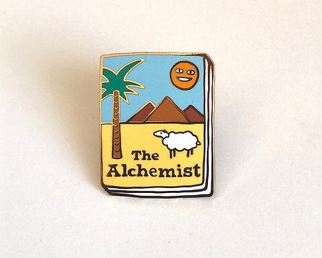 Book Pin: The Alchemist