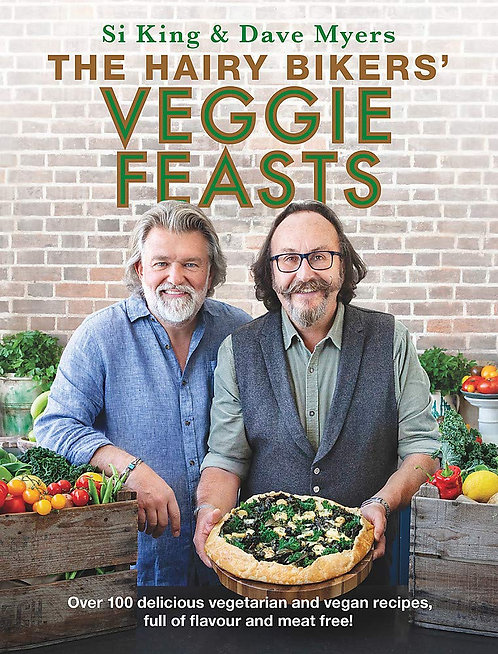 Hairy Bikers' Veggie Feasts - SIGNED 1st editions