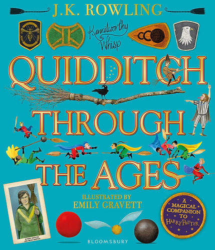 Quidditch Through the Ages -with SIGNED bookplates*