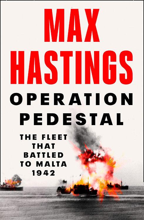 Operation Pedestal - SIGNED Damaged*