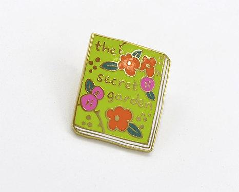 Book Pin: The Secret Garden