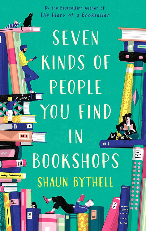 Seven Kinds of People You Find in Bookshops - With SIGNED Bookplates!