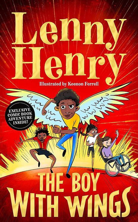 The Boy With Wings - SIGNED Indie Exclusive edition