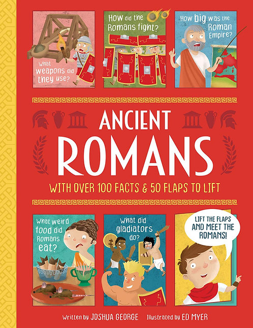 Ancient Romans - Lift-the-flap History
