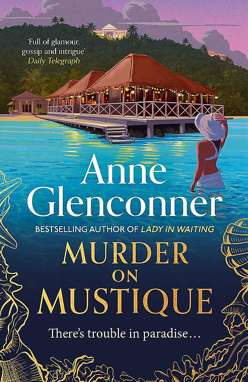 Murder on Mustique - SIGNED 1st editions!