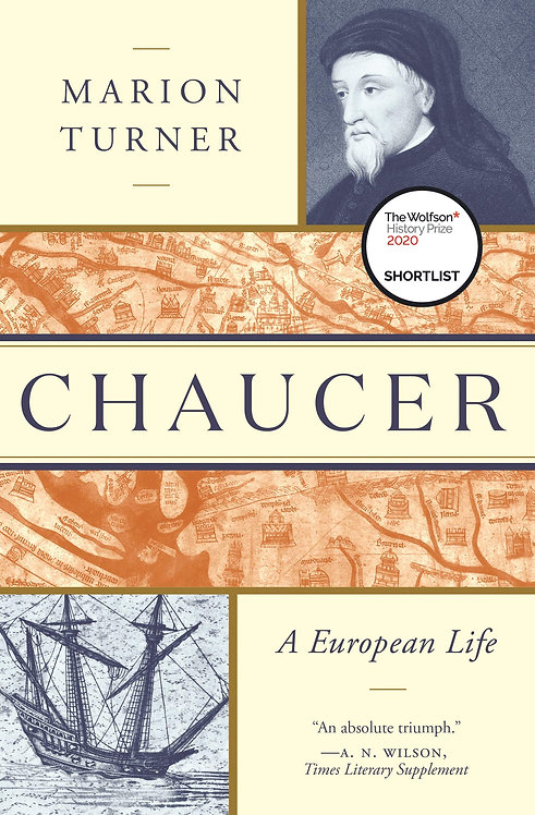 Chaucer: A European Life w/SIGNED bookplates!