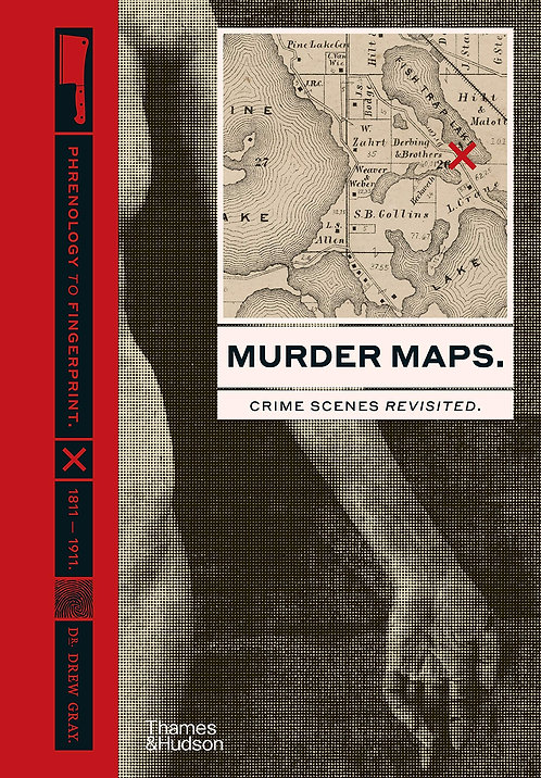 Murder Maps - with SIGNED bookplate!