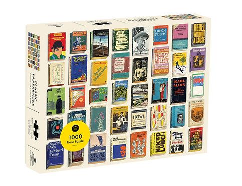 Classic Paperbacks 1000 Piece Puzzle