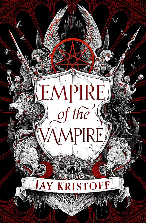 Empire of the Vampire - SIGNED 1st edition - 7/9