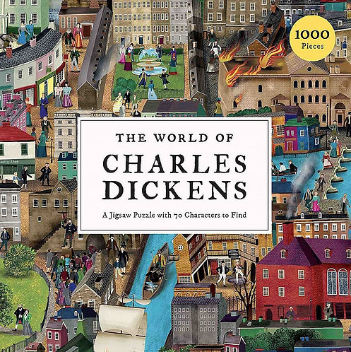 The World of Charles Dickens 1000 piece puzzle