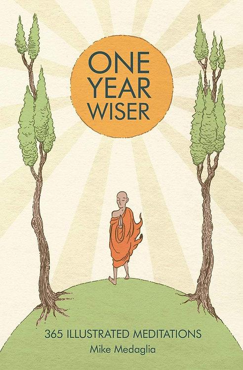 One Year Wiser: 365 Illustrated Meditations (Hardback)